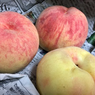 『夏バテには桃』