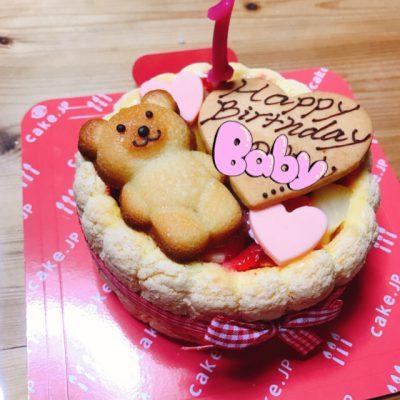 初めてのお誕生日会(*´ω`*)