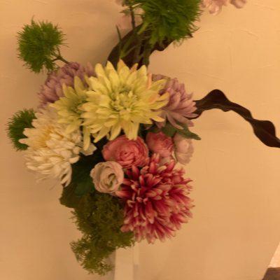 心のうるおい、季節のお花が届きました